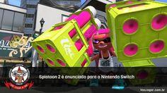 As Turf Wars irão continuar no Nintendo Switch.  #NintendoSwitch #Splatoon2