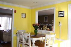Nice color for a kitchen.