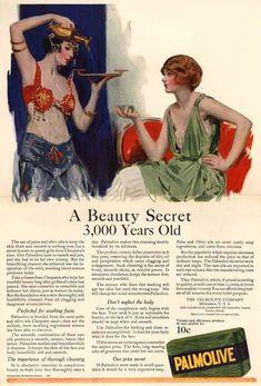 Palmolive Soap 3000 Year Old Secret 1922 - Mad Men Art: The 1891-1970 Vintage Advertisement Art Collection