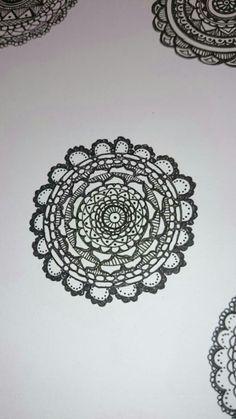 my zentangle circle⑦