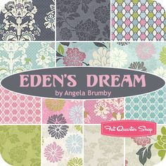 Eden's Dream Fat Quarter Bundle Angela Brumby for Studio E Fabrics - Fat Quarter Shop