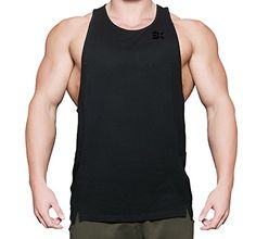 Zenwow Mens Muscle Tank Tops Gym Fitness Bodybuilding Workout Training Sports Stringer Sleeveless Shirts