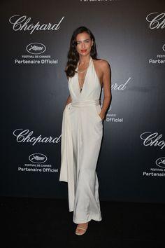 Irina Shayk en la fiesta de Chopard en Cannes