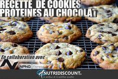 COOKIES PROTEINES AU CHOCOLAT