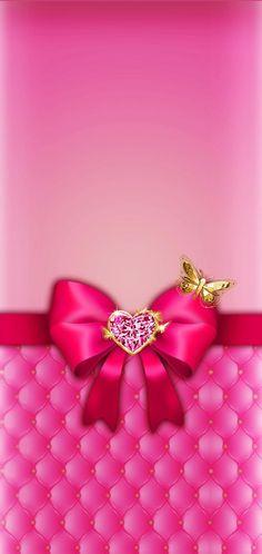 Glamour Wallpaper, Bling Wallpaper, Pretty Phone Wallpaper, Heart Wallpaper, Butterfly Wallpaper, Cellphone Wallpaper, Pretty Wallpapers, Wallpaper Backgrounds, Iphone Wallpaper