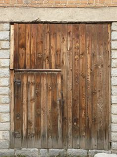 large wooden door - Google Search