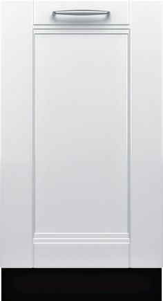 "Bosch - 800 Series 18"" Hidden Control Tall Tub Built-In Dishwasher with Stainless-Steel Tub - Custom Panel Ready"