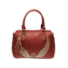 Süße Handtasche (in 7 raffinierten Farben) #red #handbag #angel #peace #fashion #jepo
