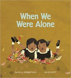 When We Were Alone is a children's book that introduces the life of kids in a First Nations residential school. It is moving, yet full of hope and pride. Hockey, Native American Children, American Indians, Cree Indians, American Symbols, American Women, American Art, American History, Album Jeunesse
