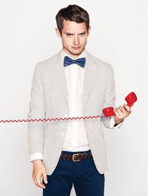 Ya can't go wrong when you're channelin' Bill Nye by wearin' a bow tie (also hey hey Elijah)