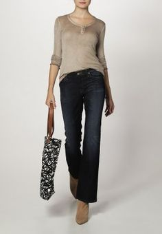 Lee - MARION - Jeans Bootcut - dark aged