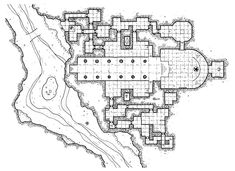 Photo 26 of 30 from fantasy rpg map II Fantasy Rpg, Medieval Fantasy, Fantasy World, Fantasy Map Maker, Building Map, Dungeon Maps, Gnome, Fantasy Setting, D 20