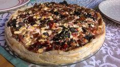 Pizza sin gluten sencilla – GLUTENDENCE Quiche Sin Gluten, Pizza Sin Gluten, Queso Feta, Camembert Cheese, Yummy Food, Yummy Recipes, Dairy, Alternative, Base