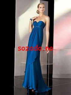 2014 New Style A-line Sweetheart Sleeveless Floor-length Chiffon Cheap Prom Dresses/Evening Dresses - Evening Dresses Cheap Prom Dresses, Bridal Dresses, Chiffon, Strapless Dress Formal, Formal Dresses, Evening Dresses, Gowns, Couture, Elegant