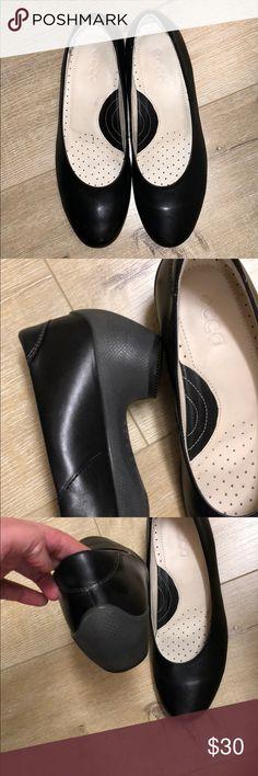 Original Ecco black pumps shoes