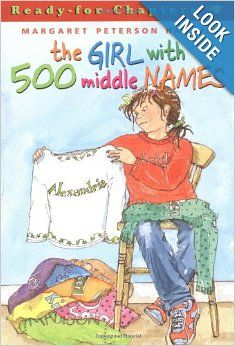 The Girl With 500 Middle Names: Margaret Peterson Haddix, Janet Hamlin: 9780689841361: Amazon.com: Books