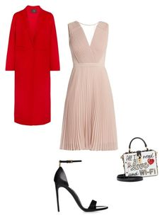 Без названия #1 by marina-butova on Polyvore featuring polyvore, fashion, style, Maje, Dolce&Gabbana and clothing