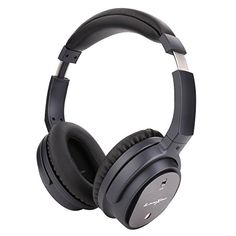 Active Noise Cancelling Wireless Headphones Litexim QW07 Stereo Bluetooth Earbuds Over Ear Foldable PC Game Headset with Microphone and Soft MemoryProtein Earmuffs * Be sure to check out this awesome product. (This is an affiliate link) #BluetoothHeadphones