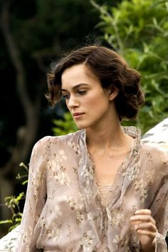 "the-garden-of-delights: "" Keira Knightley as Cecilia Tallis in Atonement "" English Actresses, Actors & Actresses, Beautiful Celebrities, Beautiful People, Imitation Game, Beckham, Keira Christina Knightley, Elizabeth Swann, Atonement"