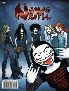 Nemi comic book nr 72