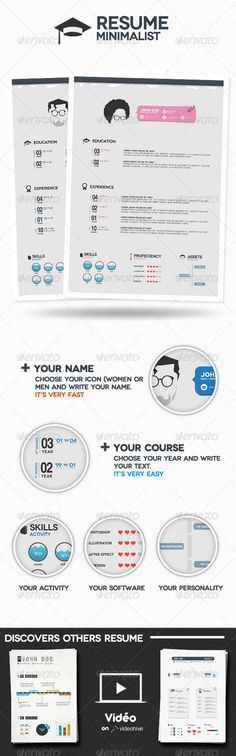 Pin by Resummme on Free resume templates Pinterest Resume - different resume templates