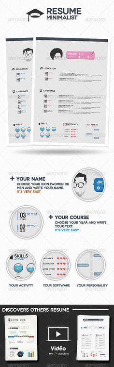 Graphicriver-Minimalist Resume