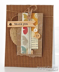 @Teri Anderson from Card Design Handbook published by Paper Crafts magazine.
