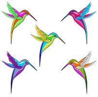 Vector Mexicanos by bbvzla Hummingbird Tattoo Watercolor, Hummingbird Wallpaper, Hummingbird Painting, Bird Applique, Applique Quilts, Bird Drawings, Animal Drawings, Hummingbird Pictures, Paper Mache Crafts