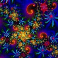 Ultra Fractal ...to get a nice rainbow coloring in UF, you can use kcc3.ucl for outside coloring (if you didn't know that already )