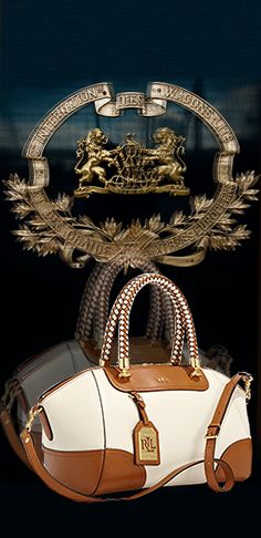 Ralph Lauren bag  |  my handbags