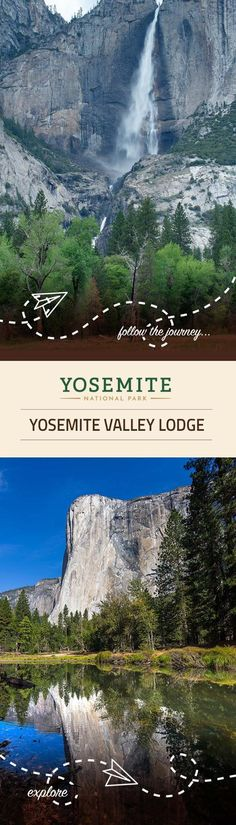 Yosemite Valley Lodge is perfect for families and groups. It is located close to Yosemite Falls and makes for the perfect home base for exploring Yosemite National Park.
