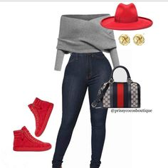 Stylish outfit idea to copy ♥ For more inspiration join our group Amazing Things ♥ You might also like these related products: - Jeans ->. Swag Outfits, Cute Casual Outfits, Casual Chic, Stylish Outfits, Fall Outfits, Fashion Outfits, Fashion Tips, Trend Fashion, Look Fashion