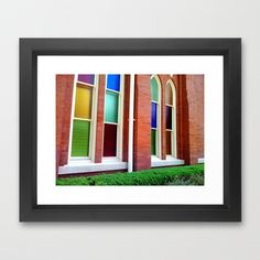 #Stained #Glass #Windows 2 #Framed #Art Print