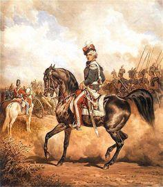 Several noble families of Poland became major breeders of Arabian horses. Eustachy Erazm Sanguszko, painted by Juliusz Kossak