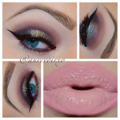 Shimmer smokey eyes @ aurevoirxo