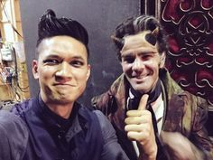 BTS of Magnus and Ragnor Fell!