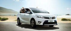 Toyota Verso. The stylish new family car.