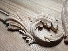 Wood Carving Designs, Acanthus, Architectural Elements, Woodcarving, Chipboard, Love Art, Diy And Crafts, Patterns, Storage