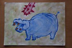 """""""Kobaltowy hipopotam zagrożony"""""""