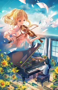 Your Lie in April, Jing & Chae