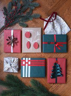 Pom Poms, Christmas Holidays, Gift Wrapping, Diy, Instagram, Barn, Winter, Creative, Christmas Vacation