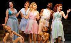 Interesting blog about the costumes from the original Broadway production on Xanadu