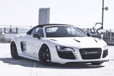 Audi R8 Spyder was exclusively designed, developed, and manufactured by Audi AG's high performance private subsidiary company, quattro GmbH, and is based on the Lamborghini Gallardo platform. The fundamental construction of the R8 is based on the Audi Space Frame, and uses an aluminium monocoque which is built using space frame principles