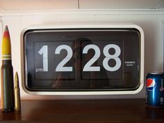 Twemco flip clock