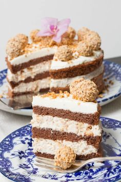 Haselnus-Praline-Torte mit Giotto