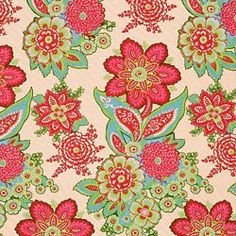 SHALINI IVORY/RASPBERRY - Small Scales - Shop By Pattern - Fabric - Calico Corners