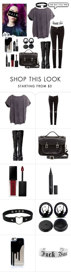 """""""Another summer over, another year of school to get ready for."""" by chuckygal-mp ❤ liked on Polyvore featuring ATG, The Cambridge Satchel Company, Smashbox and Edward Bess"""