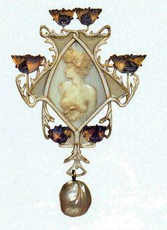 Pendant René Lalique - 1902