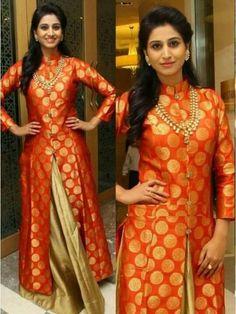 Shamili in a jacket lehenga photo Indian Gowns Dresses, Indian Fashion Dresses, Indian Designer Outfits, Pakistani Dresses, Indian Outfits, India Fashion, Women's Fashion, Jacket Lehenga, Lehenga Style
