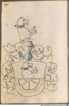 Scheibler'sches Wappenbuch Süddeutschland, um 1450 - 17. Jh. Cod.icon. 312 c Folio 608